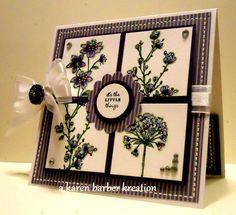 CC368 - COLOR BREAKDOWN by Karen B Barber - Cards and Paper Crafts at Splitcoaststampers