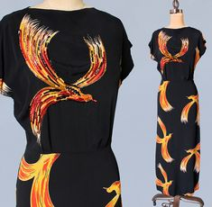 Gilbert Adrian Designer 1940s Dress