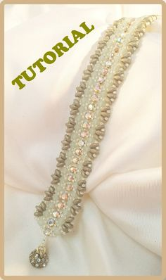 Bead tutorial How to make Farfalla Bracelet. DIY by 75marghe75, $9.00