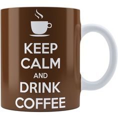 Caneca Personalizada Keep Calm And Drink Coffee