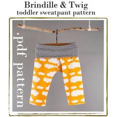 Kids pants pattern .pdf download sizes 12-18m, 18-24m, 2/3t, 3/4t, 4/5t  INSTANT DOWNLOAD