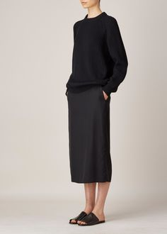 Hope Slim Skirt (Black)