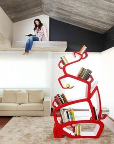 36 Cool Bookshelves And Bookcases Designs