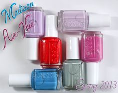 Essie Madison Ave-hue Spring 2013 nail polish collection