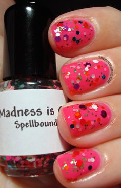 Nail - Spellbound Nails Madness is Catching over Julep Lauren