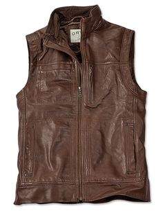 Just found this Mens Lambskin Leather Vest - Lambskin Leather Vest -- Orvis on Orvis.com!