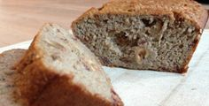 Gezond bananenbrood recept van I Love Health #suikervrij #glutenvrije optie