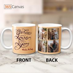 Where there is love there is life. And where there is compatibility, there is a long journey of togetherness. With the romantic and sentimental message, this amazing mug makes a perfect gift for any anniversary occasion such as the 10th or 20th anniversary. Grab it for your partner and show them how much you love and appreciate them. #mug#anniversarygifts#giftsforcouple