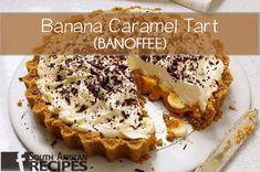 Banoffee pie, sliced, close-up Banoffee Pie, Pear Recipes, Pastry Recipes, No Bake Desserts, Dessert Recipes, Dessert Food, Bonbon Caramel, Caramel Tart, Caramel Treats