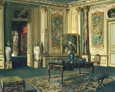 Le Grand Salon, Musée Jacquemart-André by Walter Gay, 1900-13
