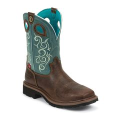 Work boots Tony Lama Women's Waterproof Comp Toe Work Boots