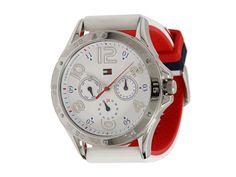 Tommy Hilfiger 1781173 Mlb, Chronograph, Watches, Shoe Bag, White White, Stuff To Buy, Accessories, Shopping, Shoes