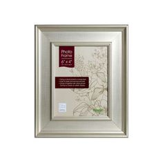 Champagne Wide Edged Photo Frame