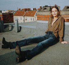 Shirt + Jeans + Boots
