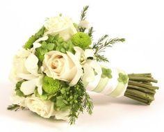 bouquet de mariée style jardin