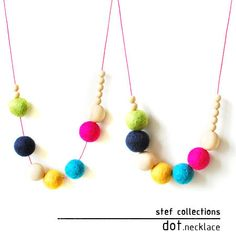 New Colour Launch special sales.    This colourful necklace is a perfect addition to a simple dress or t-shirt with jeans. With the bright fun
