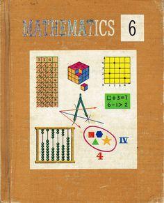 Mathematics 6 Elementary School Old Textbook 1968 - $45.00 : Vintage Collectibles Sewing Patterns Postcards Aprons Ephemera