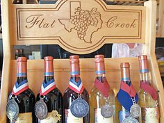 I went to a wine tasting at Flat Creek, and whoever said Texas doesn't produce good wines is WRONG. So good!