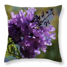Throw Pillows - Spring is in the Air Throw Pillow by Pamela Walton