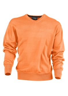 $120 MGWool in Whiskey with Black- Fine guage long sleeve high V-Neck sweater with contrast detail on inner collar.