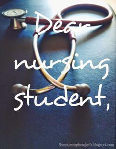 Just keep swimming ❤️  Sometimes Photojenik: Dear Nursing Student