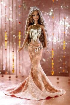 All that Glitters Barbie: She looks like Beyonce Barbie to me!  #black #barbie