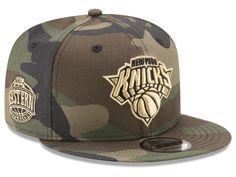 New York Knicks New Era NBA Metallic Woodland 9FIFTY Snapback Cap 26e815d83932