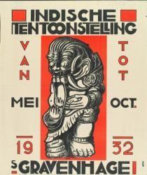 Indische tentoonstelling; vervaardiger: onbekend; 1932
