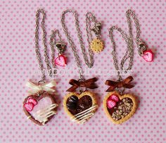 Yummy pie hearts and charms