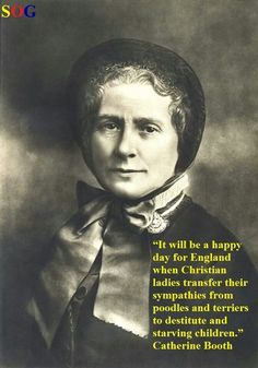 Catherine Booth, Co-Founder of The Salvation Army