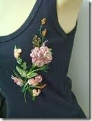 Ribbon Embroidery For Tops