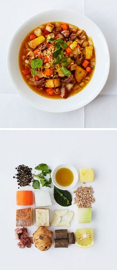 Crockpot Recipe: Root vegetables and ham hock soup @UNIQLO