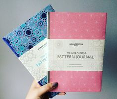 A doodlers dream - Dreamday Pattern Journals review; stationery addict, notebooks, adult colouring