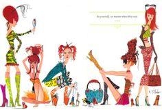 Ruben Toledo - Fashion Illustrator, via @dcwdesign blog #fashion #illustration #toledo