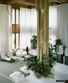The Factory |  Ricardo Bofill - disused cement factory transformed into the head office of Taller de Arquitectura
