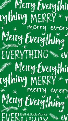 Merry Everything iPhone Wallpaper Holiday Iphone Wallpaper, Cute Christmas Wallpaper, Words Wallpaper, New Year Wallpaper, Funny Phone Wallpaper, Holiday Wallpaper, Winter Wallpaper, Trendy Wallpaper, Christmas Background