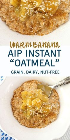 AIP Instant Breakfast Cereal (and it's really, really delicious!) | PALEO NUT-FREE GRAIN-FREE DAIRY-FREE   Grazed & Enthused