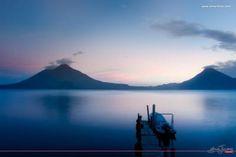 22 Fotos espectaculares del Lago de Atitlán en Guatemala que te dejarán con la boca abierta