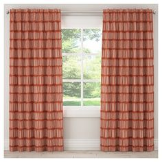 """Blackout Dash Curtain Panel Red (50""""x120"""")"""