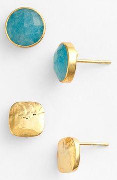 Argento Vivo Boxed Stud Earrings (Set of 2)