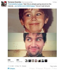 So this is Torrance Coombs: I think I love him. Look at this face, how could you say no to this face?