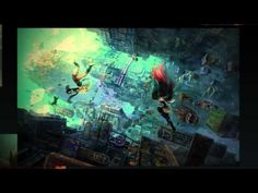 Concept art from the upcoming Gravity Rush/Daze sequel! Team Gravityからのメッセージトレーラー