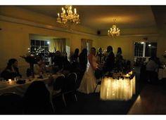 Elegant reception at Stonehedge Restaurant, West Park, NY - Distinctive Creations