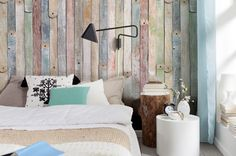 Wood Planks Pattern Photography Wall Mural Wallpaper Vintage Backdrop on Etsy, £44.43