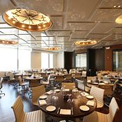 A Voce (Italian)- 10 Columbus Circle (at the Time Warner Center) (NYC)  Beautiful Restaurant with a view to Central Park. Very Modern Layout!  Great Margaritas! Definitely Try!  The food is great as well. Try the pork belly and the rabbit. This place is modestly priced. Check it out!
