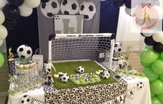 Soccer Birthday Party Ideas | Photo 8 of 15 | Catch My Party