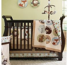 Carter's Forest Friends 4 Piece Crib Bedding Set