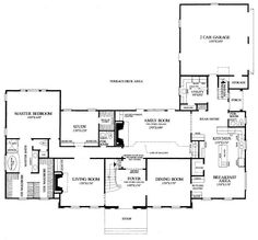 Houseplans.com #137-112 (Main Level) With a his/her wardrobe! Yes please!