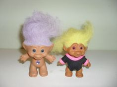 totally believed this were magical. kicked and screamed for my mom to buy me one. and when she finally did, it didn't even have a jewel in its belly! just an ugly troll doll with NO magical powers :( still kept it though lol.