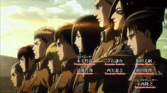 Attack on Titan - Season 2 They're back bitches <<< There's so mych foreshadowing in the opening, including this screen shot here but if you haven't read the manga you won't understand. Just note that aot gets real confusing Ereri, Levihan, Armin, Levi X Eren, Levi Ackerman, Attack On Titan Season 2, Aot Season 2, Anime Manga, Anime Art